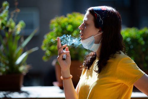 1 in 3 young adults are vulnerable to severe coronavirus infections, a new study suggests. Smoking could be to blame