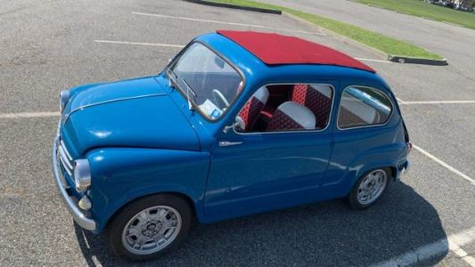 At $10,700, Is This 1962 Fiat 600 'Abarth' A Small Wonder?