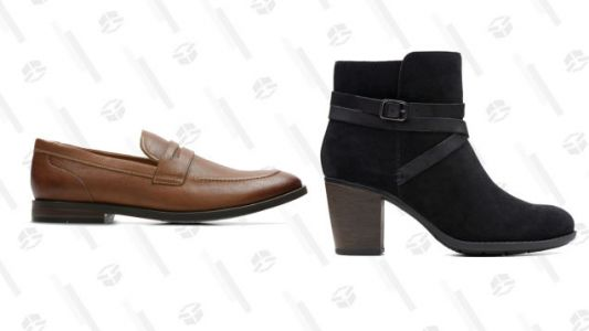 Get a Pair of Marked-Down Clarks With Up to 60% Off Clearance