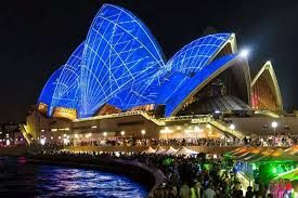 Vivid Sydney festival features on Channel 7's Weekender travel program