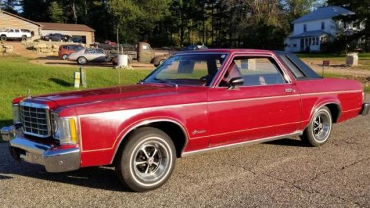 At $2,995, Is This V8 1977 Ford Granada A Hipster's Dream?