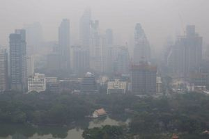 TAT travel advisory on Bangkok's air pollution that can affect tourists as well