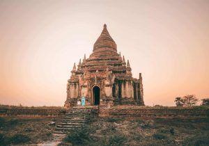 Bagan temple stops tourists from climbing, city named as UNSECO site