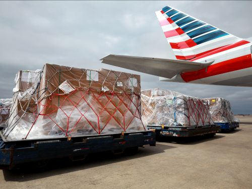 Inside the massive effort by US airlines to transport medical supplies and mail on cargo-only flights using passenger jets