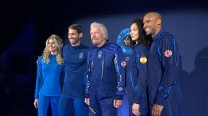 Virgin Galactic unveils space suits for its space tourists
