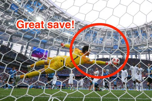 Hugo Lloris pulled off 1 of the best saves of the 2018 World Cup - but Twitter is more captivated by a horrible-looking bug that tried to fly into his mouth
