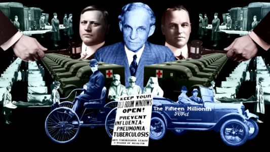 Bar Fights, Lawsuits and the Flu Pandemic: The War Between Henry Ford and the Dodge Brothers