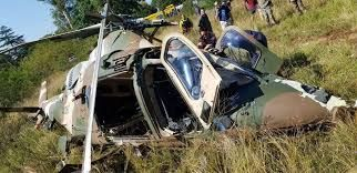 Guinea: Military helicopter crashes, two missing