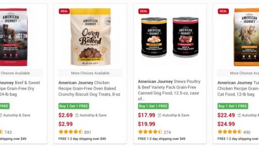 BOGO Pet Food and Treats Is Your Furry Friend's Favorite Black Friday Deal