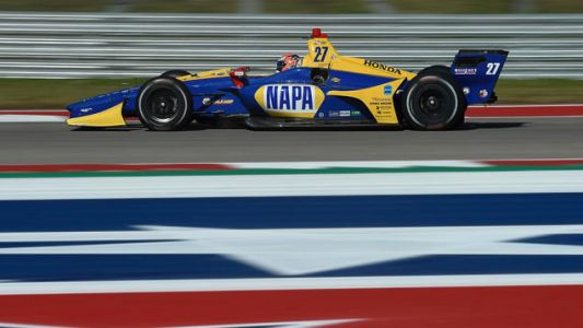 The Onboard Footage from IndyCar's Test at COTA is as Big as Texas