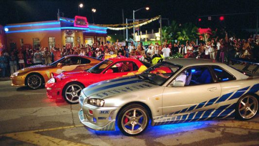 The Nissan Skyline in 2Fast 2Furious Beat a Dodge Neon SRT-4 for the Role