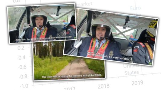 Finnish Economist Delivers Economic Outlook Report In The Most Finnish Way Possible: From Inside A Rally Car