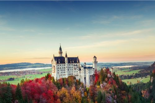 Where to see the most scenic fall colors in Europe