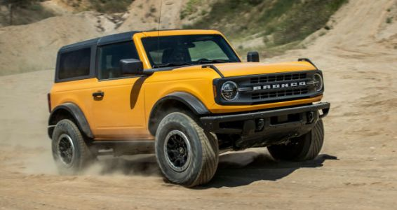 COVID-19 Is Bucking Up Ford's Bronco Launch