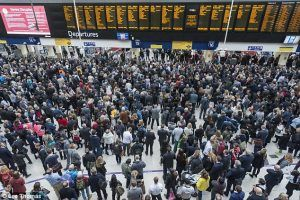 London Waterloo closed, rush-hour travel disruption