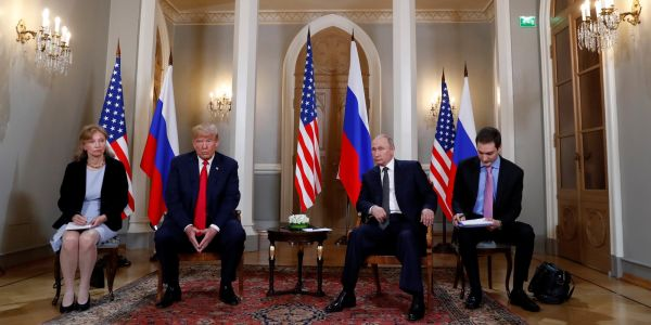 Meet Marina Gross, the interpreter who was the only other American in the room for Trump and Putin's 1-on-1 meeting in Helsinki