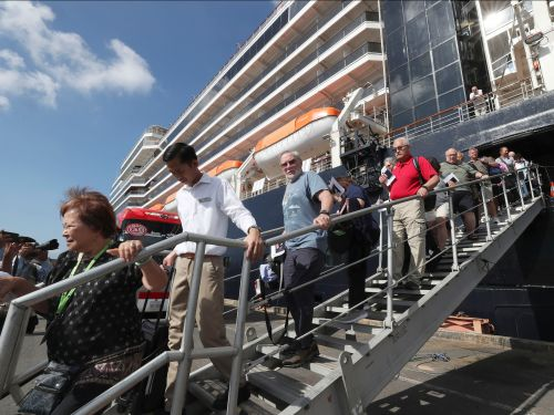 'Everything is a mess': Westerdam passengers in limbo again after passenger testing positive for coronavirus prompts countries to not let them 'fly through'