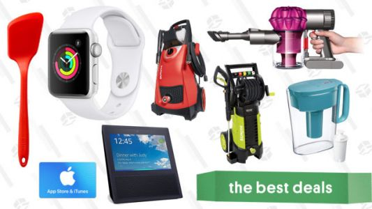 Monday's Best Deals: iTunes Gift Card, Apple Watches, Dyson Vacuums, and More