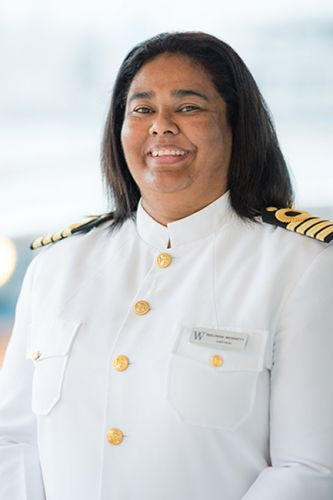 Profile: Pioneering Cruise Captain Belinda Bennett