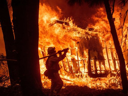 The California power outages show how dire the wildfire crisis has gotten -9 of the state's 10 biggest fires came in the last 16 years