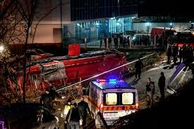 13 killed, 30 injured in bus accident in North Macedonia
