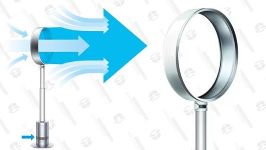 Summer's Just Around the Corner, So Here's a Great Deal On Dyson's Bladeless Pedestal Fan