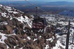 Ruapehu's New Sky Waka Opens for Mountain High Sightseeing Thrills
