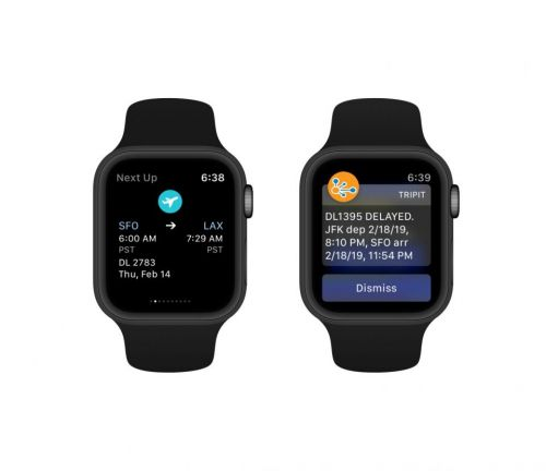 Updated: TripIt for Apple Watch