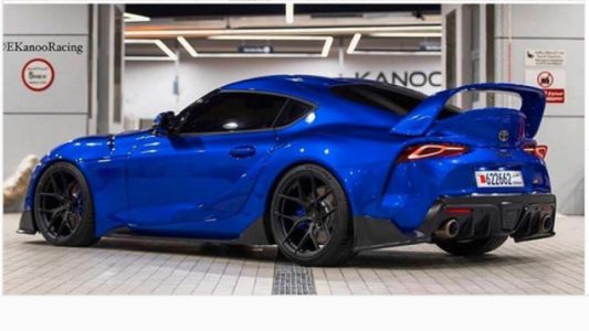 The 2020 Toyota Supra Looks So Damn Good With A Massive Wing