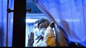 US passengers from Japanese coronavirus hit ship fly home for further quarantine