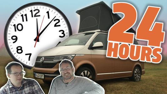 We Trapped Ourselves In The VW California T6.1 Camper Van For 24 Hours And Things Got Weird