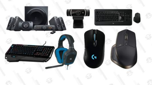 Amazon's Blowing Out a Bunch of Logitech Peripherals, Today Only