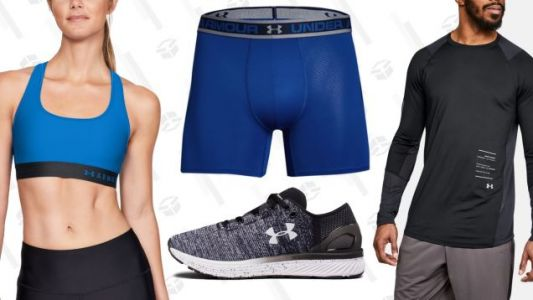 Build Your Spring Workout Wardrobe With An Extra 20% Off Under Armour's Outlet Prices