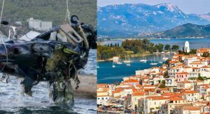 Helicopter crash leads to power cut in Greek Island, 2 passengers and a pilot dead