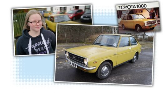 This Lovely Old Toyota Was Restored By a Kid Starting When She Was 12
