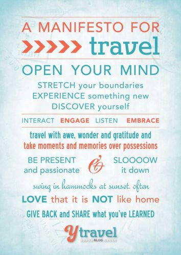 10 Principles to Create Awesome Travel Experiences