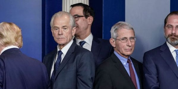 Trump trade advisor Peter Navarro claimed Dr. Fauci is 'wrong about everything,' as the White House seeks to discredit him on COVID-19