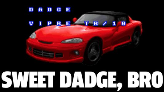 This Obscure '90s Driving Game Has Some Gleefully Half-Assed Made-Up Car Names