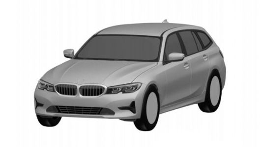 Here's The New BMW 3 Series Wagon Before You're Supposed To See It