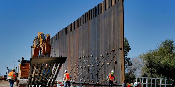 Trump administration will waive 10 federal laws to speed up border wall construction in California, Arizona, New Mexico and Texas