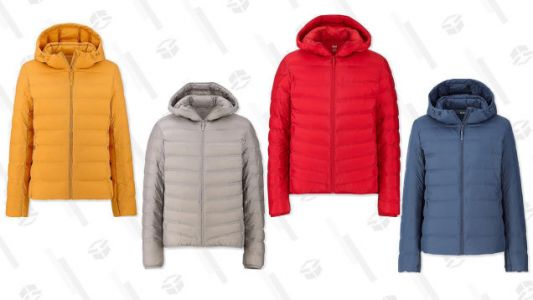 Uniqlo's On-Sale Ultra Light Down Seamless Parkas Will Keep You Warm Without Weighing You Down