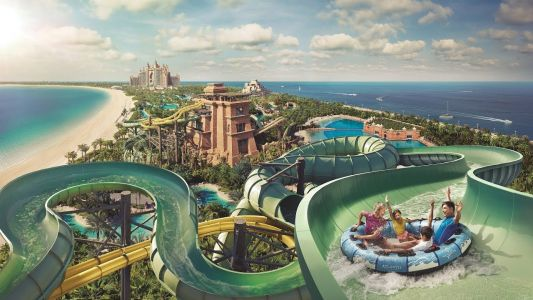 Atlantis Aquaventure Is Awarded Best Waterpark In The Middle East And Second Best In The World