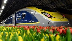 Eurostar celebrates first anniversary of high-speed services to Amsterdam