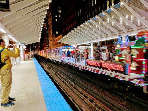 All Aboard Chicago's Holiday Train