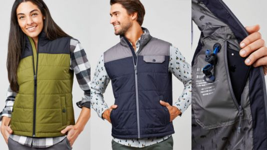 This Sustainable United By Blue Puffer Vest Is as Warm as a Bison Pelt and On Sale For $100