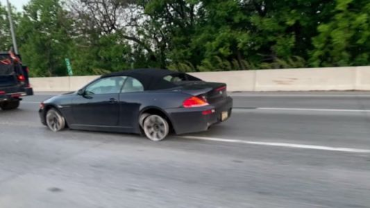 Philadelphia Driver Goes Several Miles on Interstate Without Tires