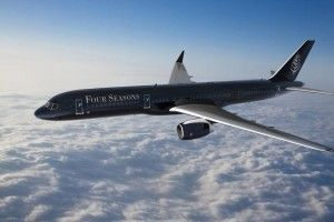 Four Seasons Hotels and Resorts will launch private jet trips