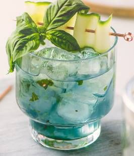 Cocktail of the Week: Cucumber Blue at Shutters on the Beach