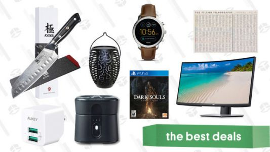 Thursday's Best Deals: Kyoku Daimyo Knives, Fossil Semi-Annual Sale, Vizio Sound Bar, and More