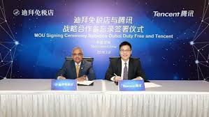 Dubai Duty Free signs a strategic cooperation agreement with Tencent Holdings